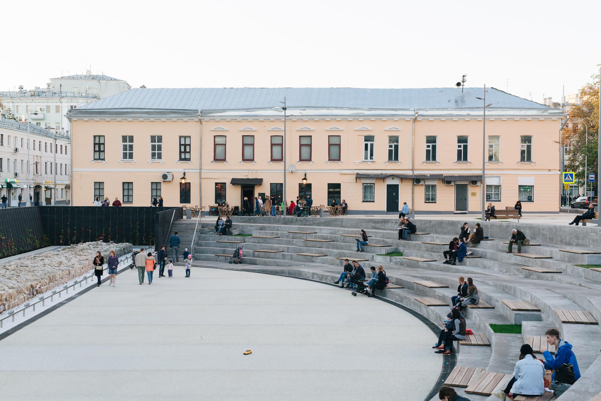 Djao-Rakitine Khokhlovskaya Square, Moscow